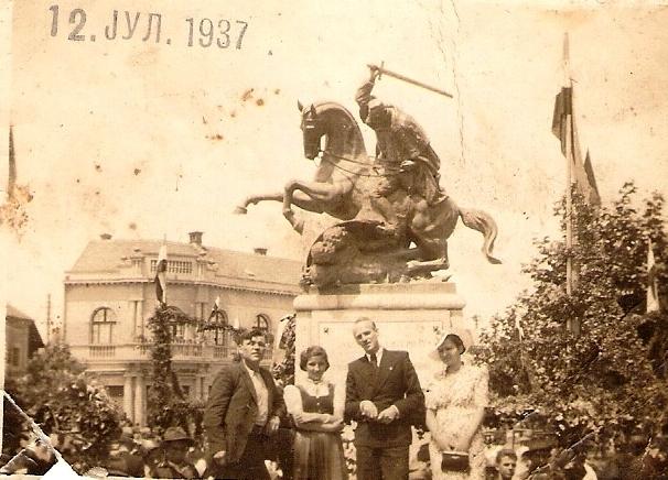 Spomenik kralju Petru u Bjeljini