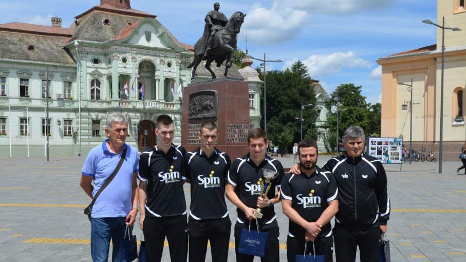 СТОНОТЕНИСЕРИ БАНАТА ПОНОВО ШАМПИОНИ СРБИЈЕ